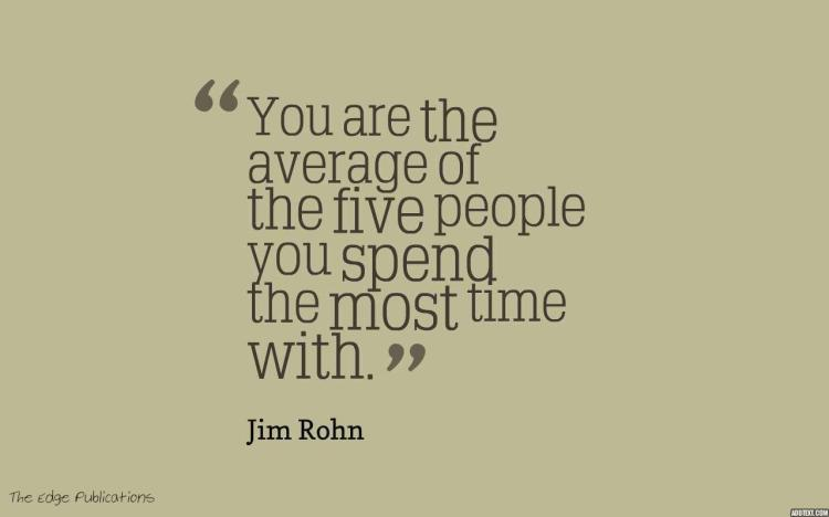 quote about happiness and who you spend your time with